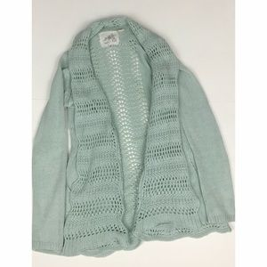 Angel of the North Lacestitch Cardigan